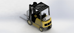 Forkift Truck - Empilhadeira
