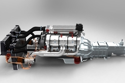 V8 GM 350 turbo rendering