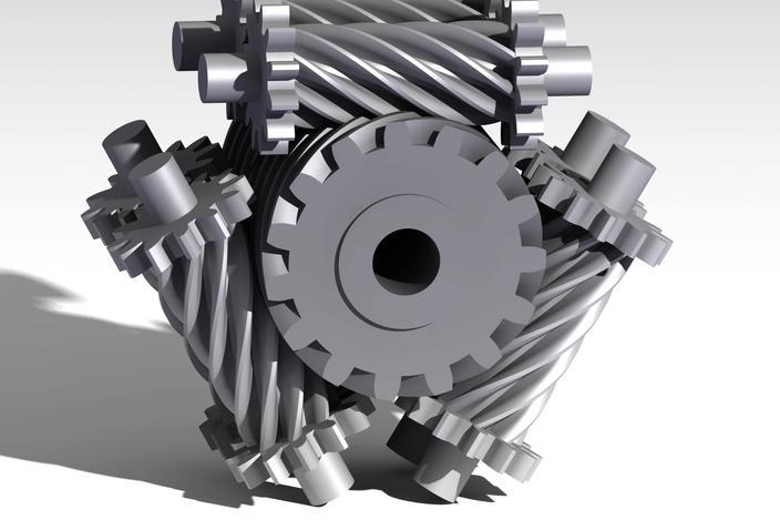 torsen differential - CATIA, STEP / IGES - 3D CAD model ...