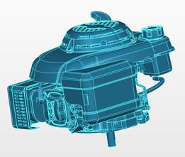 BRANCO B4T 4.0 V Lawn mower engine