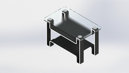 rectangular center table