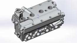 VAZ 2112 16v cylinder head