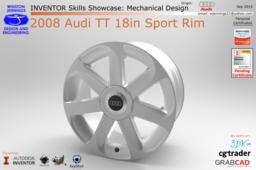 Inventor Skills - 2008 Audi TT Sport Rim