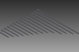 DIN 94 Split Pins (Cotter Pins). Nom. Diameter 1mm
