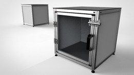 Simple Box - Aluminium Profile Frame