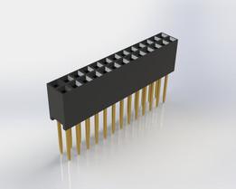 Header 2,54/mm vertikal 10/Way Stecker PC BOARD
