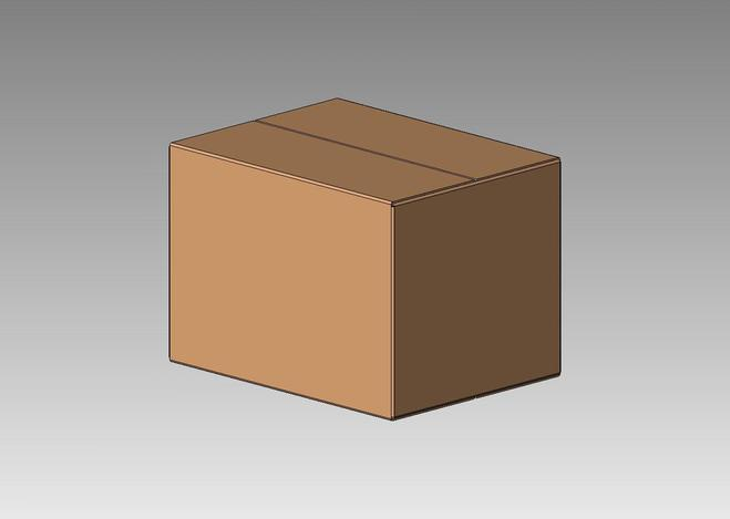 how to draw 3d box on solidworks