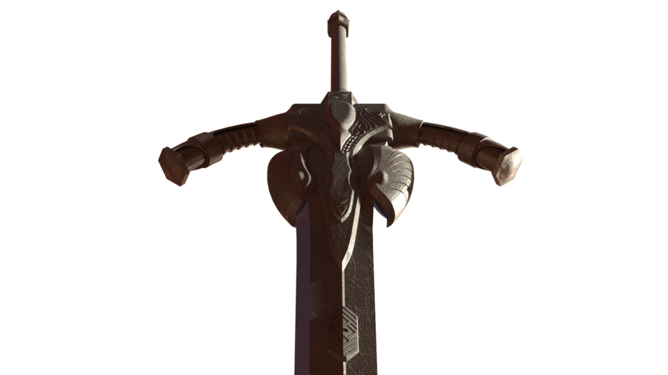 Greatsword | 3D CAD Model Library | GrabCAD