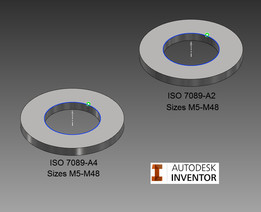 Flat Washer, ISO 7089 (SS)
