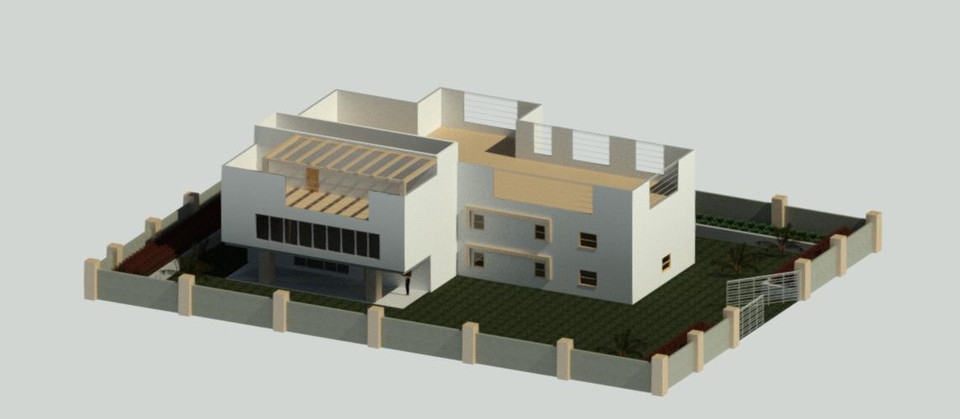 load in 3d viewer uploaded by anonymous - House Model 3d