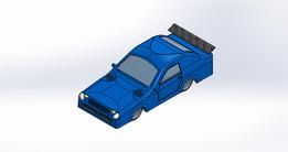 1:16 Scale Model Car