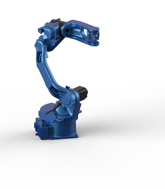 Robotic Arm Yaskawa Motoman 3d Cad Model Library Grabcad