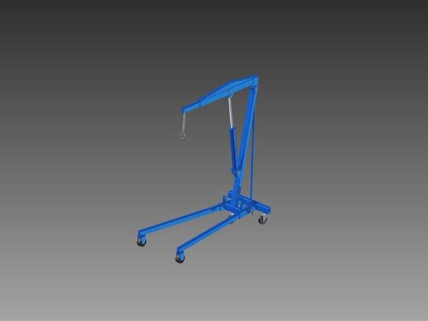 ch vre de levage autodesk inventor stl 3d cad model grabcad. Black Bedroom Furniture Sets. Home Design Ideas
