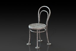 Steel Thonet Chair no 14