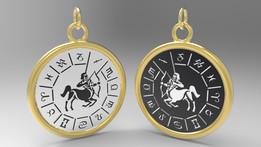Zodiac Pendant (Sagittarius)