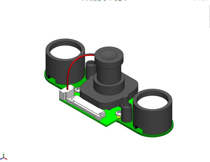 Raspberry Pi - JES Camera Module Kit Embedded IR-CUT Night