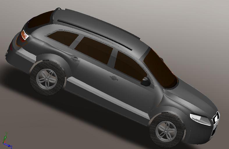 AUDI Q7 | 3D CAD Model Library | GrabCAD