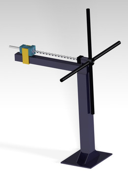 Ornamental metal  bar twister