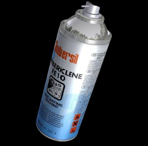 Amberklene aerosol can cleaner