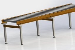 2000mm Long Roller Table
