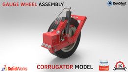 Corrugator Model (Gauge Wheel Assembly)