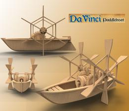 DaVinci Paddle Boat