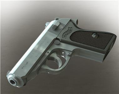 Walther PPK | 3D CAD Model Library | GrabCAD