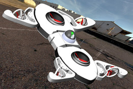 6 propellers DRONE