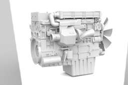DD13 Engine Model