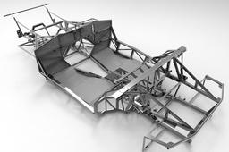 NAERC Lamborghini Diablo / Murcielago Kit Car Chassis