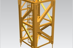 TOWER CRANE -Crane body segment-