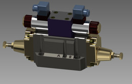 hydraulic Directional Valve Solenoid Operated DHG-04