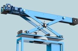 Multi adjustable belt conveyor
