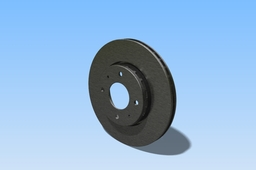 Brake disc for Volvo S40 -99