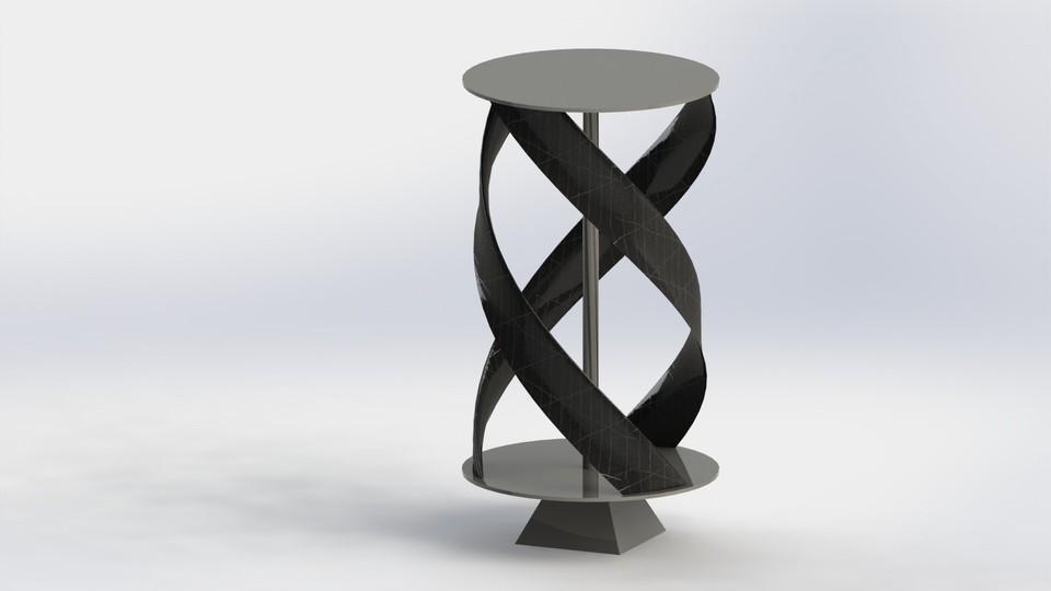 GORLOV Wind Turbine | 3D CAD Model Library | GrabCAD