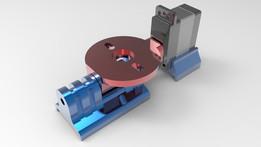 Quad-copter/Tri-copter Tilt Mechanism V6