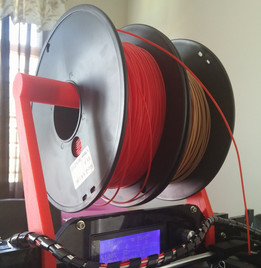 Prusa i3 Spooler for Acrylic frame of 7mm