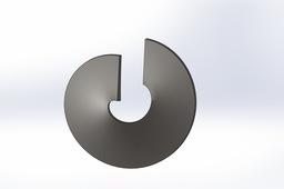 Helix (Flighting) for Screw Conveyor (SolidWorks 2012)