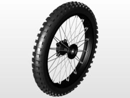 Front Wheel for enduro