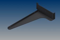 Slatwall shelf bracket