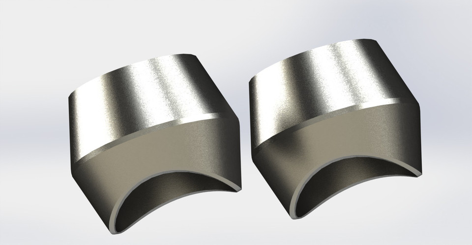 Forged Steel Threadolet 2x1 - Pipe Fitting | 3D CAD Model Library
