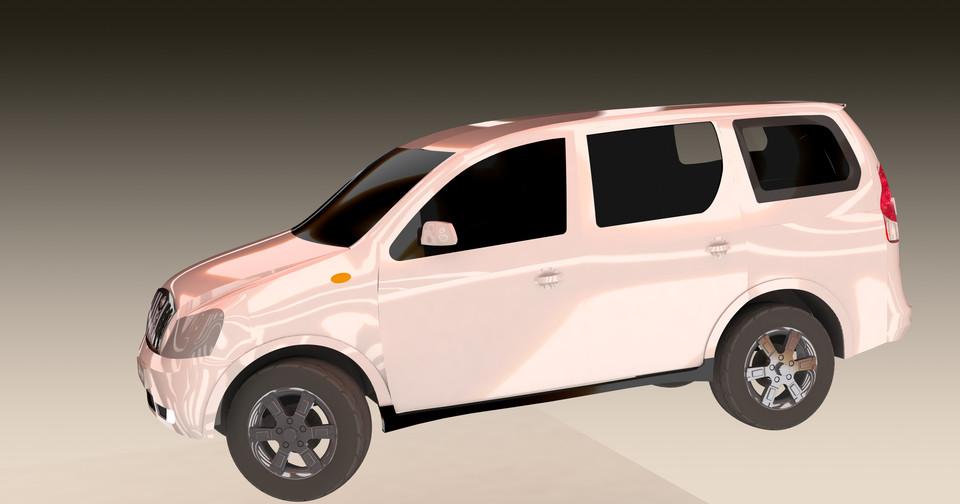 mahindra & mahindra XYLO E8   3D CAD Model Library   GrabCAD