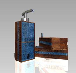 Vintage soap pump