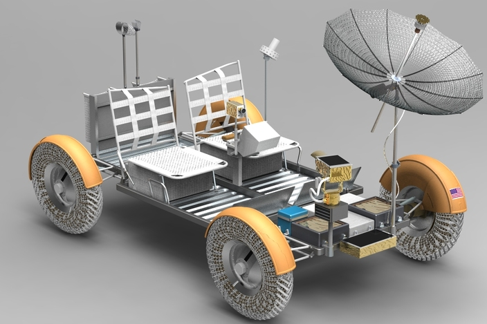 Moon Rover Model Car (page 3) - Pics about space
