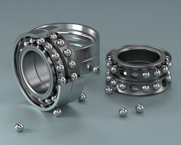 Double Bearing done in PARTsolutions software