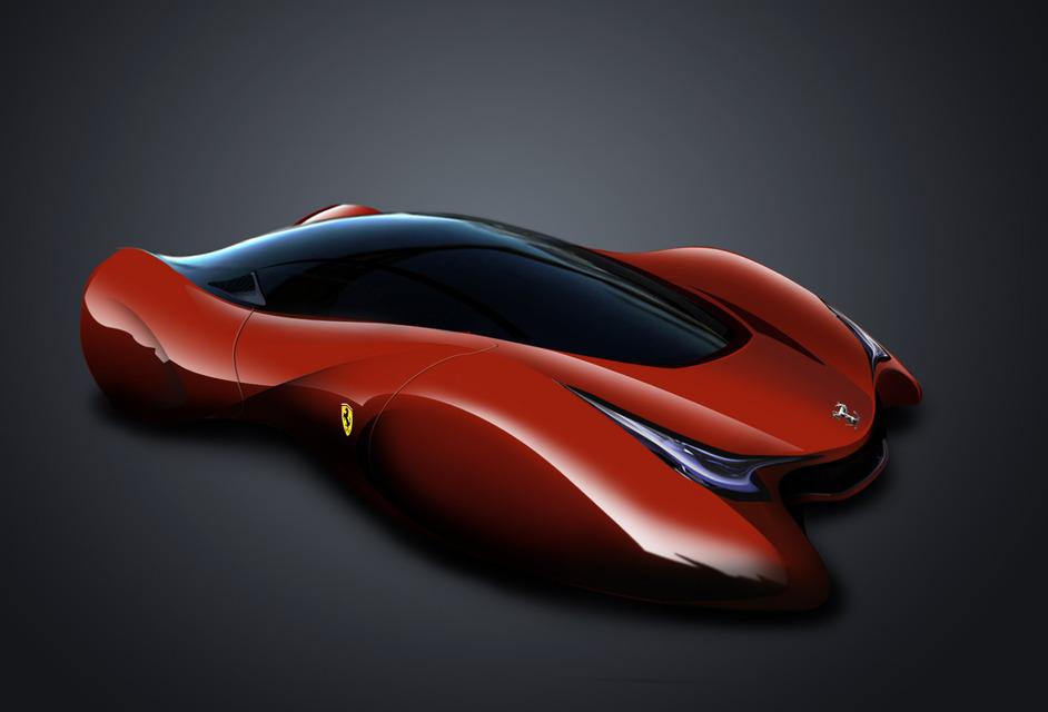 Ferrari 2020 3d Cad Model Library Grabcad