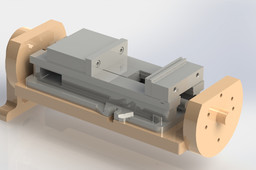 Trunnion and Vise Assembly