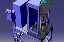 Two-step press-fitting machine