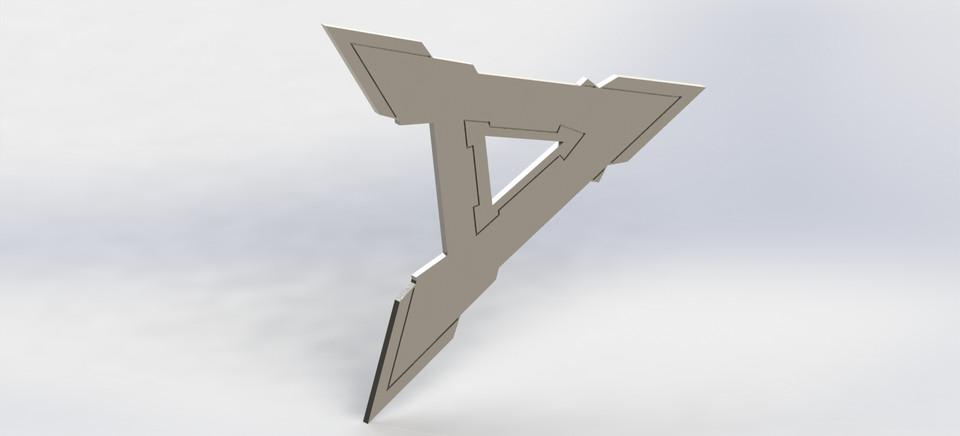 Dhoom 2 Aaryan Logo A 3d Cad Model Library Grabcad