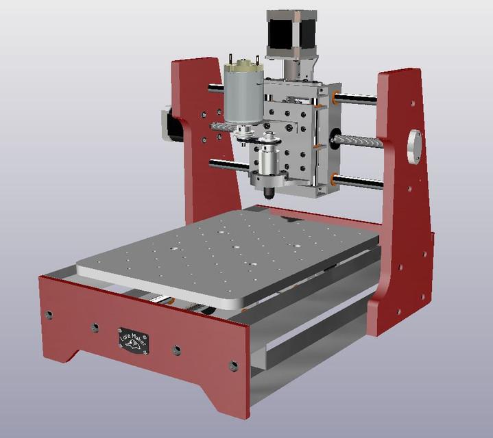 My mini CNC mill   3D CAD Model Library   GrabCAD